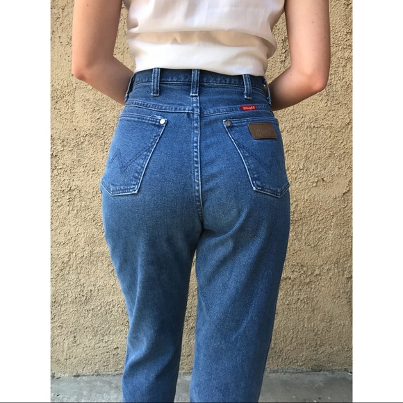 bf6856c4 [vintage] Wrangler high waist women's jeans. M_5b1c35c7aa8770e2cc60d121